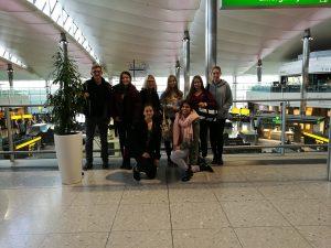 Stein-Schüler sammeln erste Erfahrungen in der Berufswelt in Großbritannien.