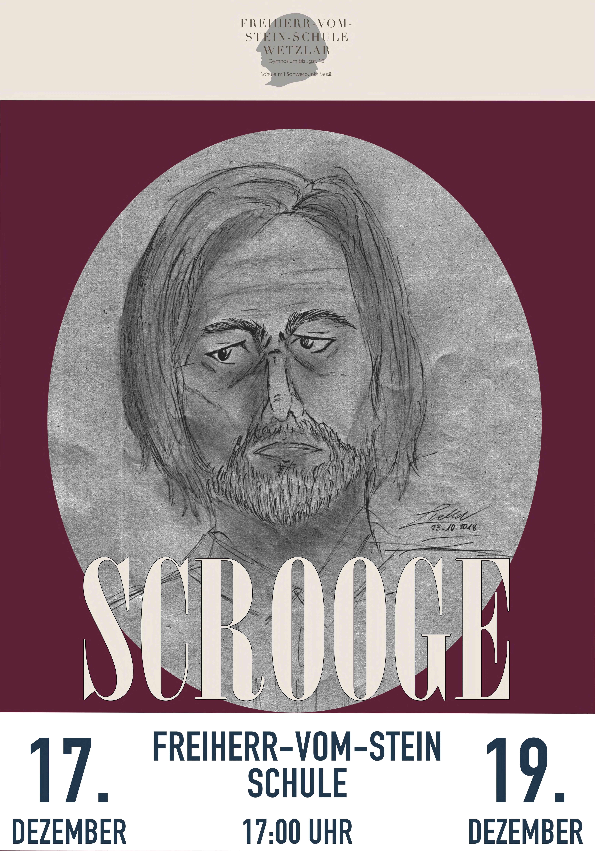 Theaterplakat Scrooge