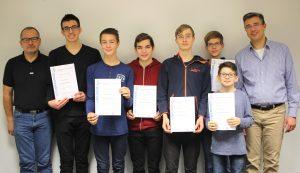Mathematikolympiade Hessen 2018/2019